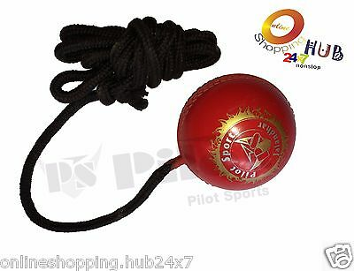 2 Pc - Ps Pilot Hanging ball For cricket practice with reaction string