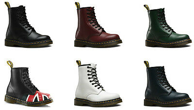 Dr Martens Unisex Adult 1460 Core Smooth Leather Ankle 8 Eye Boots