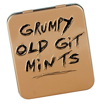 Grumpy Old Git Mints Tin Adult Dad Secret Santa Gift Christmas Stocking Filler