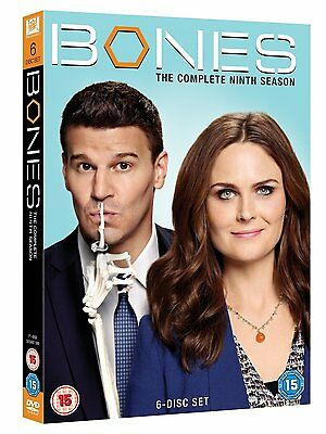 BONES COMPLETE SEASON 9 DVD ALL EPISODES SERIES Brand New Sealed UK Release