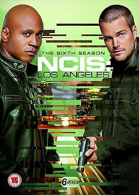 NCIS LA LOS ANGELES COMPLETE SERIES 6 DVD Box Set Sixth 6th Season New Sealed UK
