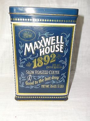 Vintage Maxwell House Coffee Collectible Coffee Tin