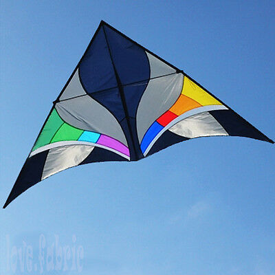 9.2ft Large Delta Kite Reverie Fatasy 5~20MPH Wind Game Abstract Outdoor Sport