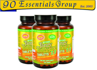 Beyond Tangy Tangerine 2.0 Tablets Three Pak (BTT) by Youngevity, Wallach