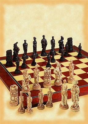 SAC A169 Antiqued Battle of Waterloo Chess set - NEW - board not included