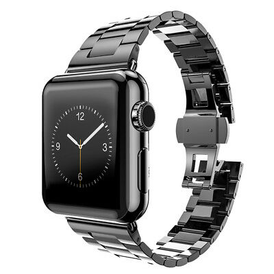 Hoco Apple Watch 42 mm Stainless Steel SlimFit Armband - Space Grey
