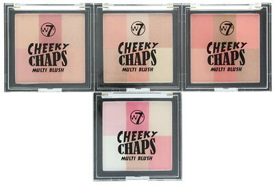 W7 Cheeky Chaps Multi Blush Compact Blusher