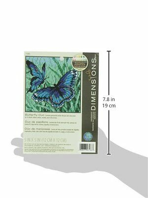 Dimensions Needle Point Kit, Butterfly Duo