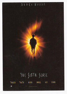 SIXIEME SENS THE SIXTH SENSE carte postale n° C 1045 SONIS Bruce WILLIS