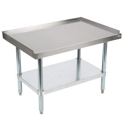 Stainless Steel Equipment Grill Stand 24 x 48 - Heavy Duty