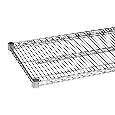 Chrome Wire Shelving 18 x 18 - NSF (2 Shelves) - Heavy Duty - Metro Style