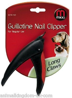 Mikki Long Claws Guilotine Nail Clipper For Dogs & Cats For Regular Use 6276152