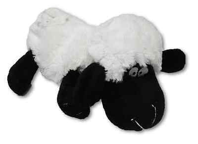 Childrens Plush WHITE SHEEP Cherry Stone Pillow Cuddly Heatable Soother