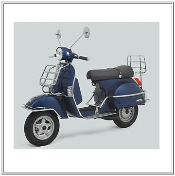 Vespa PX Full Chrome Kit Carriers,Side Protection,Front Bumper New RRP £520.00!!
