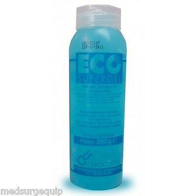 SKINTACT ECO SuperGel Ultrasound Gel .26 Liter / 8.7 oz Bottle - Case of 25