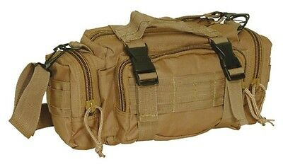 New! Voodoo Tactical New Enlarged MOLLE Deployment Bag Coyote Tan 15-812707000