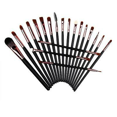 20pcs Sets Cosmetic Make up Foundation Eyeshadow Eyeliner Lips Makeup Brushes LH