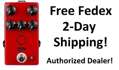 New JHS Angry Charlie V3 Overdrive Distortion Guitar Effects Pedal!