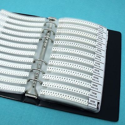 RK5-0805: 0805 SMD Resistor Assorted Book kit 5% 25x170 values (4250pcs)