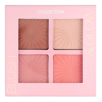 COLLECTION *Blush and Glow Palette* 2 Blushers Bronzer Highlighter CONTOUR KIT!