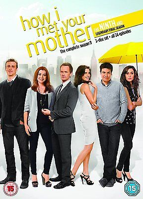 HOW I MET YOUR MOTHER COMPLETE SERIES 9 DVD All Episodes Season New Sealed UK
