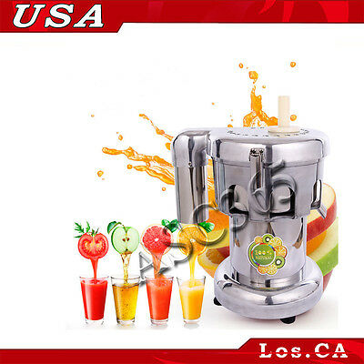 110V 750W Commercial Fruit and Vegetable Extractor Juicer