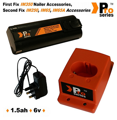 Pro Series  Battery/Charger Base/Wall Charger/For Paslode Nailers(IM65A)