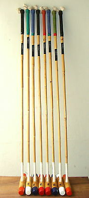 "10 Sticks + 10 Balls | Practice Beginner's Polo Mallets | 48"" - 54"" 