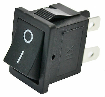 2 Position Snap in Rocker Switch. AC 6A/250V 10A/125V 4 Pin DPST ON/OFF