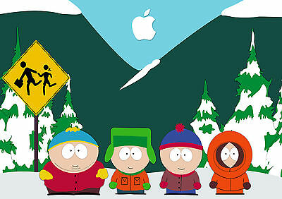 South Park Tv Show Glossy Wall Art Poster Print (A1 - A5 Sizes Available)
