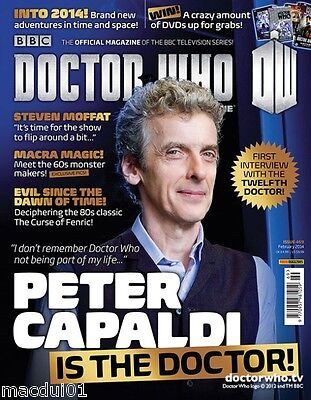 Doctor Who Magazine 469 February 2014 Peter Capaldi First Interview 12Th Doctor