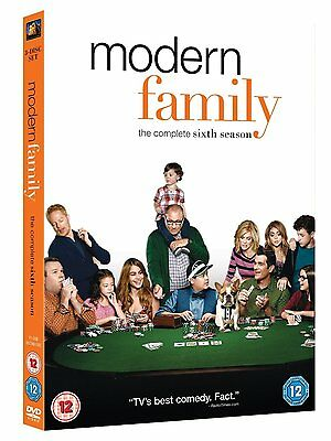 MODERN FAMILY COMPLETE SERIES 6 DVD All Episodes Season Brand New and Sealed UK