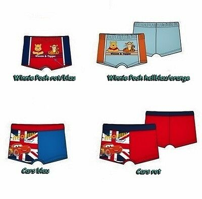 Badehose Cars Winnie Pooh Baby Badeshorts 68 74 80 86 Junge Disney Schwimmhose
