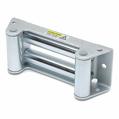 Smittybilt Heavy Duty 4-Way Roller Fairlead For Standard Winch Plates 97281-47