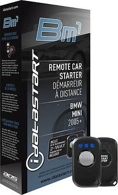 IdataLink ADS-BM1 iDataStart T-Harness Remote Start for 2005-2015 BMW & Mini