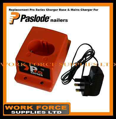 paslode IM350+ replacement charger set