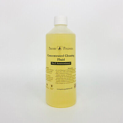 Special:clock Cleaning Concentrate No 1/ Brass Cleaner 500Ml Plus Free Clock Oil • £10.35