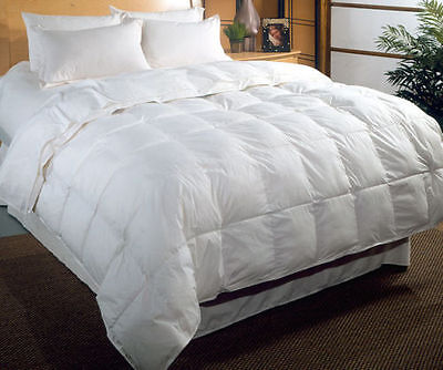 Duvet/Quilt Breathable White Goose Feather Tog 13.5 Soft 100% Natural All Season