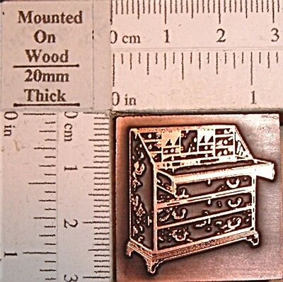 """ANTIQUE BUREAU"" Printing Block."