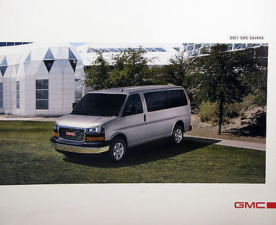 2011 GMC Savana van/wagon new vehicle brochure