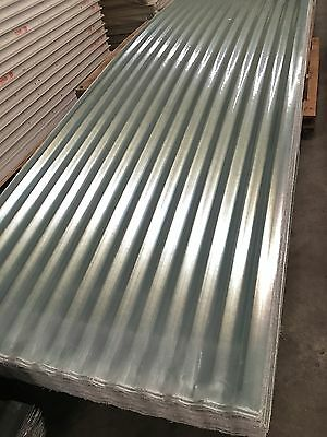 Corrugated & T-Deck Fibreglass Clear Roofing Sheets $8.00 L/M