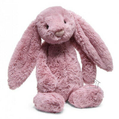 NEW Jellycat Bashful TULIP Pink Bunny Small 18cm Soft Plush Toy Rabbit Jelly Cat