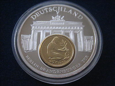 "Mds Pp Medaille European Currencies ""deutschland - Brandenburger Tor"" (Box B)"