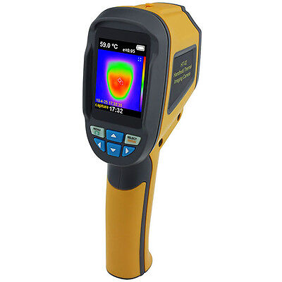 """Mini 2.4"""" 32GB Infrared Thermal Imaging Camera Imager IR Cam Thermometer HT-002"""