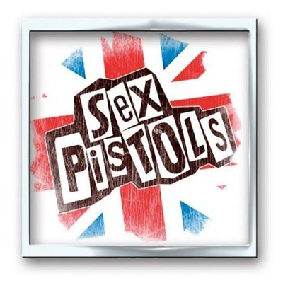 Sex Pistols Metal Pin Badge Brooch Union Jack Band Gift Fan Official Product
