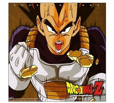 New Vegeta Dragon Ball Z Shower Curtain Gift