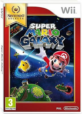 Super Mario Galaxy Select (Wii) Brand New & Sealed - UK PAL