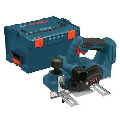 Bosch PLH181BL 18V Li-Ion Cordless 3-1/4in Planer with L-BOXX-3 (Tool Only)