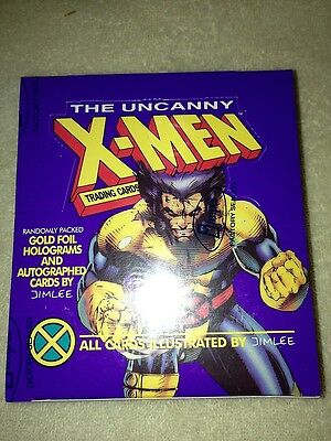 X-Men Series 1 - Marvel Impel 1992 Wolverine Trading Cards Box - Factory sealed