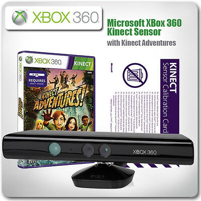 Kinect Sensor for XBox 360 - with Kinect Adventures *in Excellent Condition*